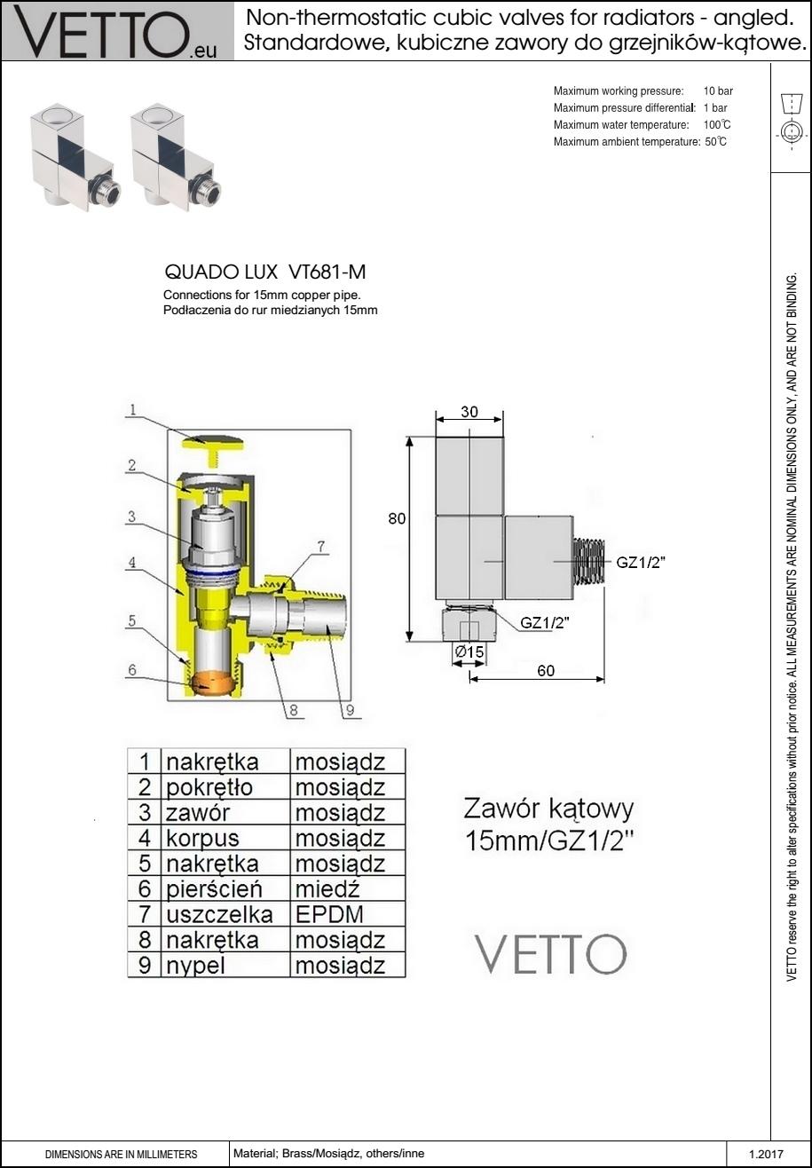 QUADO_LUX_cubic_radiator_valve_zawor_grzejnikowy_kubiczny_VETTO_VT681.